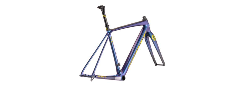 Cuadros de ciclocross. Montaje a la carta Giant y Scott