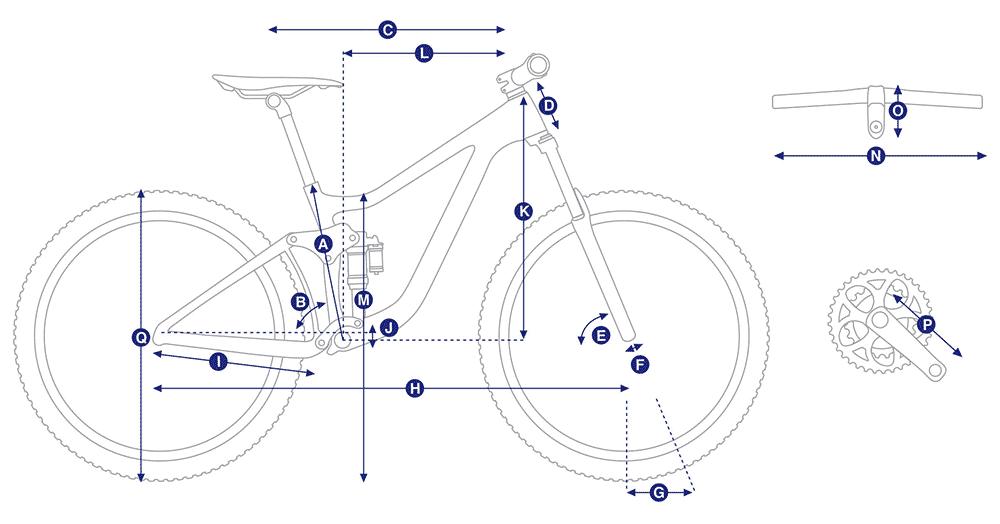 Bicicleta de trail Giant Trance E+ 2 Pro 25km/h 2020