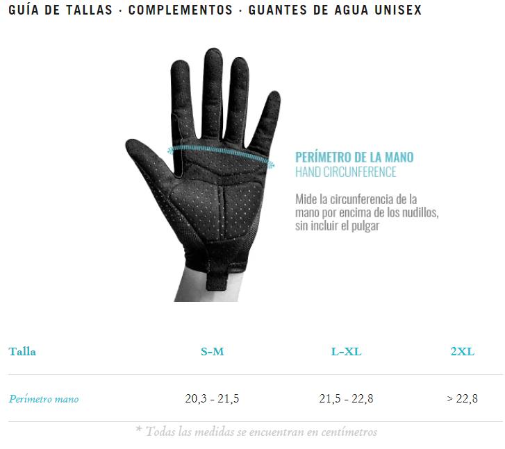 tallas gobik guantes tundra black 2.0