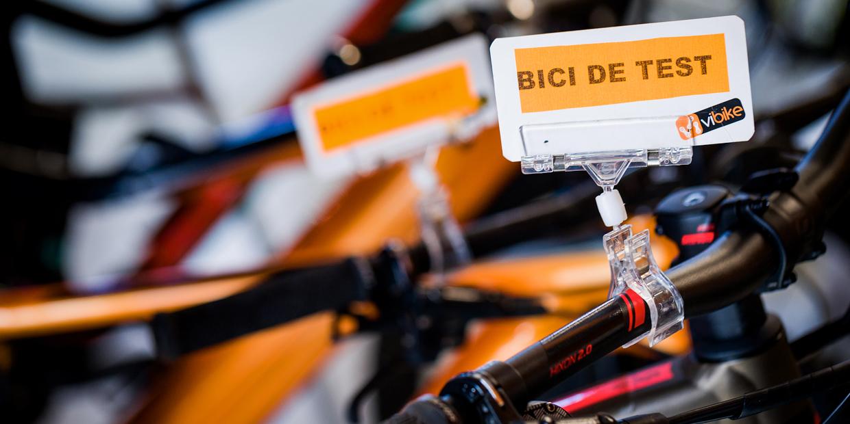 Bicicletas de prueba